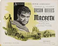Macbeth - 30 x 40 Movie Poster UK - Style A