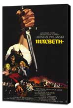 Macbeth - 11 x 17 Movie Poster - French Style A - Museum Wrapped Canvas