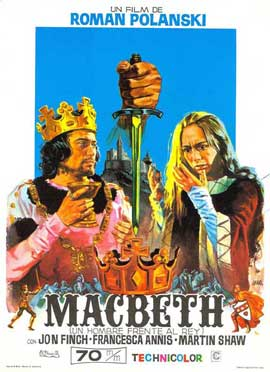 Macbeth - 27 x 40 Movie Poster - Spanish Style A