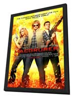 MacGruber - 11 x 17 Movie Poster - Style B - in Deluxe Wood Frame