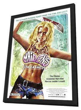 Machete Maidens Unleashed! - 11 x 17 Movie Poster - Style A - in Deluxe Wood Frame