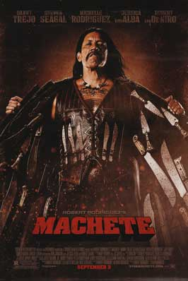 Machete - DS 1 Sheet Movie Poster - Style A