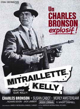 Machine Gun Kelly - 11 x 17 Movie Poster - French Style A