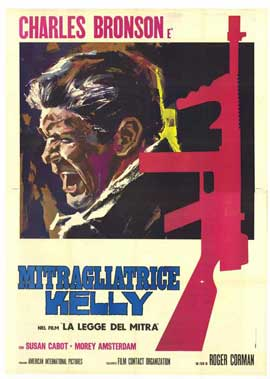 Machine Gun Kelly - 11 x 17 Movie Poster - Italian Style A