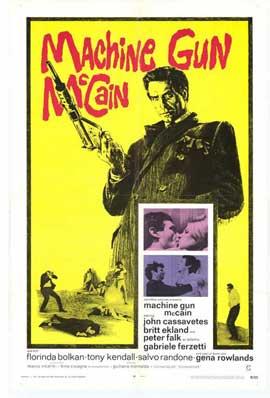 Machine Gun McCain - 11 x 17 Movie Poster - Style A