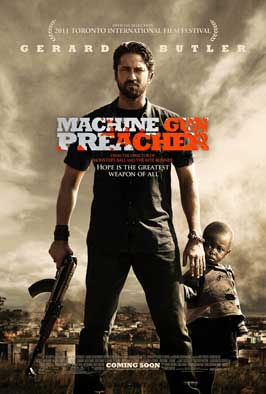Machine Gun Preacher - 11 x 17 Movie Poster - Style A