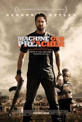 Machine Gun Preacher - 27 x 40 Movie Poster - Style A