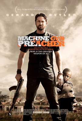 Machine Gun Preacher - 43 x 62 Movie Poster - Bus Shelter Style A