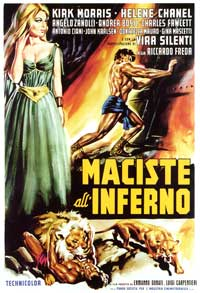 Maciste in Hell - 27 x 40 Movie Poster - Italian Style A