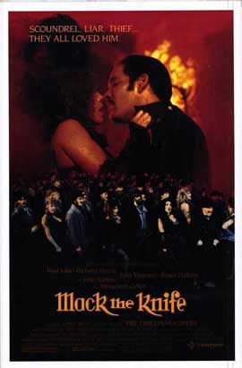 Mack the Knife - 27 x 40 Movie Poster - Style A