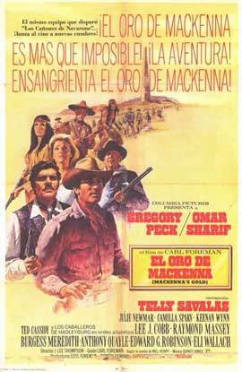 MacKenna's Gold - 11 x 17 Movie Poster - Spanish Style A