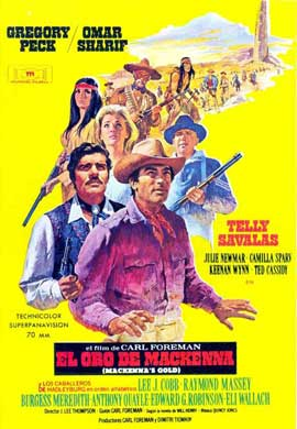 MacKenna's Gold - 11 x 17 Movie Poster - Spanish Style C