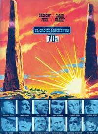 MacKenna's Gold - 27 x 40 Movie Poster - Spanish Style B