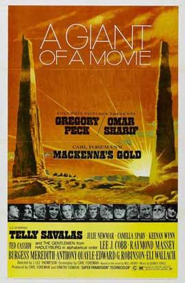 MacKenna's Gold - 11 x 17 Movie Poster - Style B