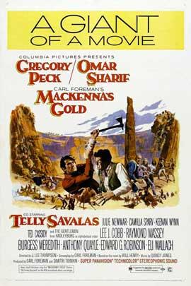 MacKenna's Gold - 27 x 40 Movie Poster - Style C
