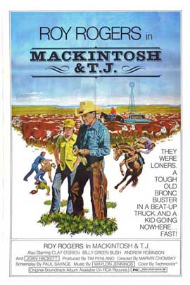 Mackintosh and T.J. - 27 x 40 Movie Poster - Style A