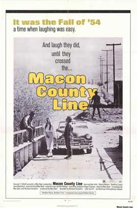Macon County Line - 27 x 40 Movie Poster - Style B