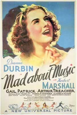 Mad About Music - 11 x 17 Movie Poster - Style A