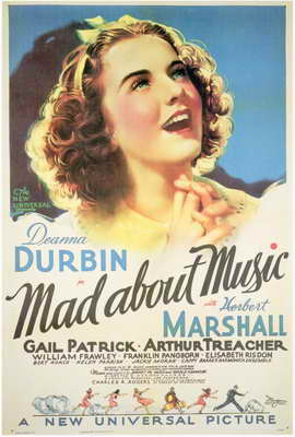 Mad About Music - 27 x 40 Movie Poster - Style A