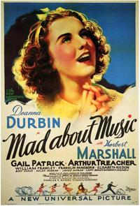 Mad About Music - 43 x 62 Movie Poster - Bus Shelter Style A