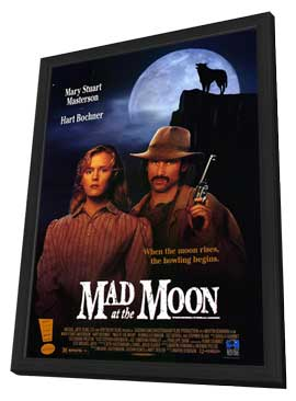 Mad at the Moon - 11 x 17 Movie Poster - Style A - in Deluxe Wood Frame