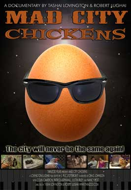 Mad City Chickens - 27 x 40 Movie Poster - Style A