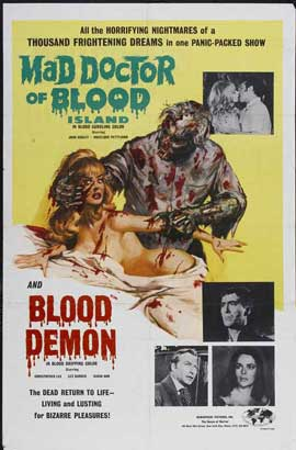 Mad Doctor of Blood Island - 11 x 17 Movie Poster - Style A