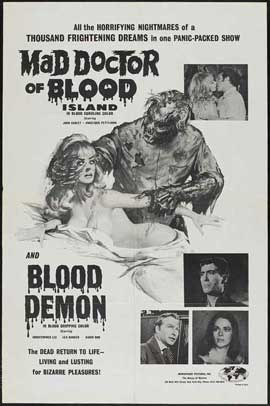 Mad Doctor of Blood Island - 11 x 17 Movie Poster - Style B