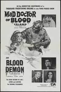 Mad Doctor of Blood Island - 27 x 40 Movie Poster - Style B