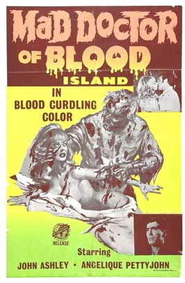 Mad Doctor of Blood Island - 27 x 40 Movie Poster - Style C