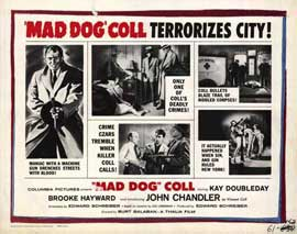 Mad Dog Coll - 11 x 14 Movie Poster - Style B