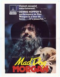 Mad Dog Morgan - 11 x 17 Movie Poster - Style A