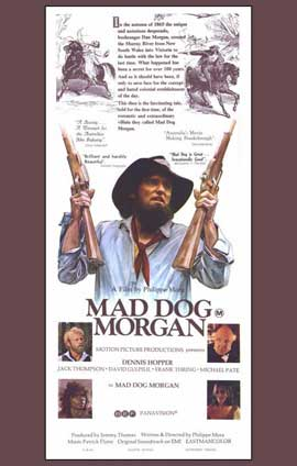Mad Dog Morgan - 11 x 17 Movie Poster - Style B