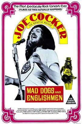 Mad Dogs and Englishmen - 11 x 17 Movie Poster - Style A