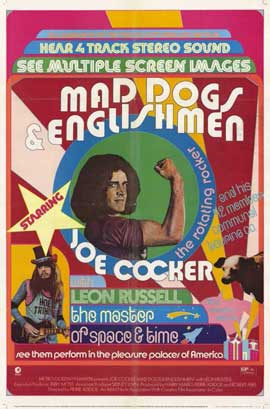 Mad Dogs and Englishmen - 11 x 17 Movie Poster - Style B