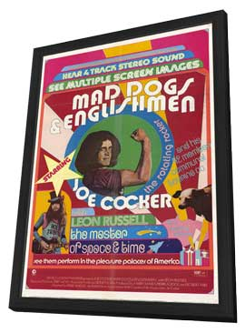 Mad Dogs and Englishmen - 27 x 40 Movie Poster - Style B - in Deluxe Wood Frame