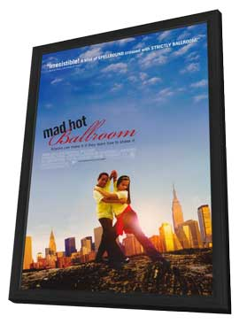 Mad Hot Ballroom - 11 x 17 Movie Poster - Style A - in Deluxe Wood Frame