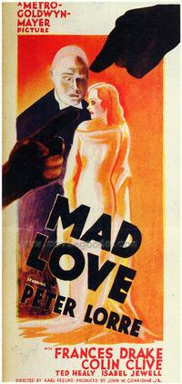 Mad Love - 27 x 40 Movie Poster - Style D