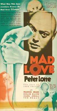 Mad Love - 11 x 17 Movie Poster - Style H