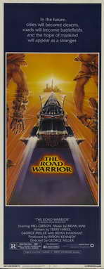 Mad Max 2: The Road Warrior - 14 x 36 Movie Poster - Insert Style A