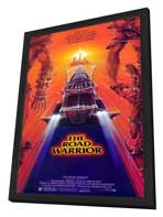 Mad Max 2: The Road Warrior - 27 x 40 Movie Poster - Style A - in Deluxe Wood Frame