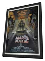 Mad Max 2: The Road Warrior - 27 x 40 Movie Poster - Style F - in Deluxe Wood Frame