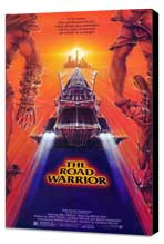Mad Max 2: The Road Warrior - 27 x 40 Movie Poster - Style A - Museum Wrapped Canvas