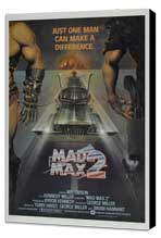 Mad Max 2: The Road Warrior - 27 x 40 Movie Poster - Style F - Museum Wrapped Canvas