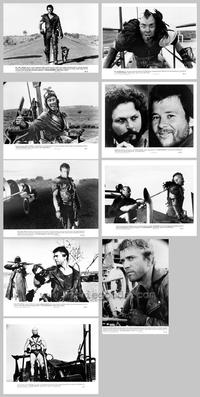 Mad Max 2: The Road Warrior - Set of 9 - 8 x 10 B&W Photos