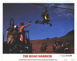 Mad Max 2: The Road Warrior - 11 x 14 Movie Poster - Style H
