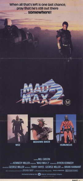 Mad Max 2: The Road Warrior - 11 x 17 Movie Poster - Style D
