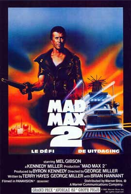 Mad Max 2: The Road Warrior - 11 x 17 Movie Poster - Belgian Style A