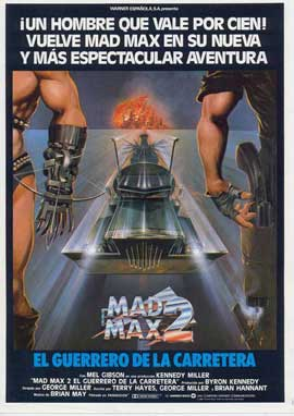 Mad Max 2: The Road Warrior - 27 x 40 Movie Poster - Spanish Style A