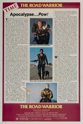 Mad Max 2: The Road Warrior - 27 x 40 Movie Poster - Style B
